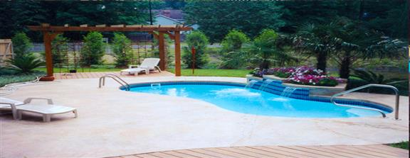 San Juan Pools - Paradise Pools fiberglass swimming pools